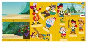 Vystřihovánky MFP Disney (Jake)  5300793