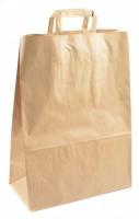 Papírová taška hnědá 35 x 12 x 26 cm