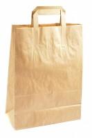 Papírová taška hnědá 44 x 16 x 32 cm