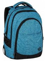 Studentský batoh Bagmaster - Digital 9 D - Blue/Black