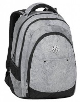Studentský batoh Bagmaster - Digital 9 E - Gray/Black