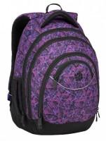 Studentský batoh Bagmaster Energy 9 D Violet / Black