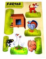 Vystřihovánky - Farma - 3241
