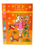 Omalovánky A5 - Blok - Fifi (Čtyřlístek) - Maluj podle čísel - 7189