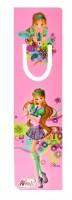 Záložka s průsekem - Winx Club - Fashion Flora - 6144