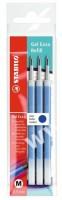 Náplň do gumovacího pera - STABILO Gel Exxx - modrá, 3 ks - 6/041-3-01