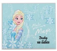 Desky na číslice - Frozen - Karton P+P - 3-98419