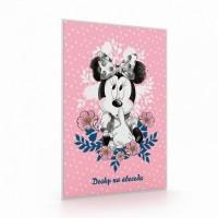 Desky na abecedu - Minnie - Karton P+P - 3-96919