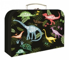 Kufřík lamino 34 cm - Karton P+P - Dino - druhy - 5-66719