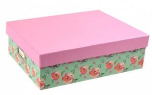 Úložná krabice - 31,5 x 24,5 x 10 cm - 8668-BLO