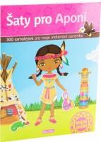 Kniha samolepek - Šaty pro Aponi - K-4934