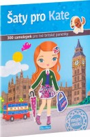 Kniha samolepek - Šaty pro Kate - K-PC-1301