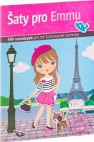 Kniha samolepek - Šaty pro Emmu - K-PC-1401