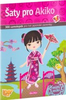 Kniha samolepek - Šaty pro Akiko - K-PC-1501