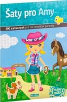 Kniha samolepek - Šaty pro Amy - K-PC-3701