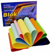 Skicák A4 - 10 barevných listů