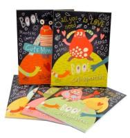Trhací zápisník 90 x 120 mm - Cute Monsters - 1111-0290