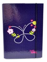 Box na sešity A4 - Blue Butterfly - Stil - 1523493