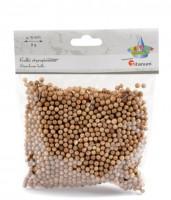 Kuličky z polystyrenu - hnědé - 4-6 mm - 8 g - 624079