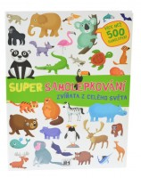 Super samolepkování - Zvířata z celého světa - 1496-4