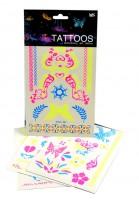 Tetovací obtisky - Neon - 14,5 x 24 cm - UCO1606.