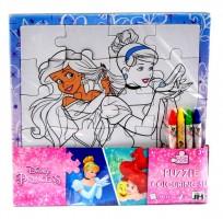Puzzle vykreslovací - Princezny - 1089-8