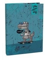 Box na sešity s klopou Stil A5 - Cool Robot - 1523506