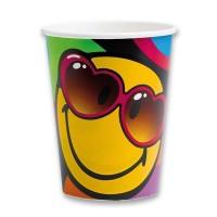 Papírové kelímky - Smiley Express - 8 ks - 0556/5524270