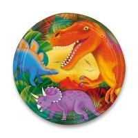 Papírové talířky - Dinosauři - 8 ks - 0556/5597660