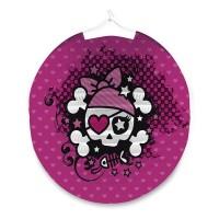 Lampion vytahovací - koule - Pink Pirate -1200/1505040