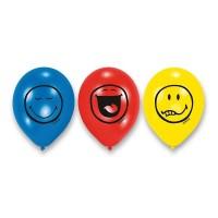 Nafukovací balónky - Smiley Express 6 ks - 1200/4502960