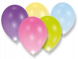 Nafukovací balónky - LED - 5 ks - mix barev - 1200/9901048
