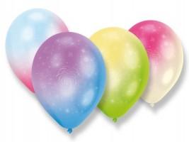 Nafukovací balónky - LED - Firework - 4 ks - 1200/9901057