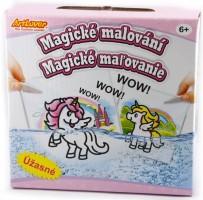 Magické malování - Jednorožci - AAD- MB002