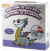 Malované 3D zvířátko - Draci -CPZ-3D-MB008