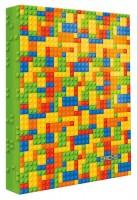 Pořadač A4 - 4 kroužky - Colour Bricks - 1611-0284