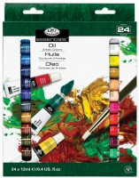Olejové barvy - Royal& Langnickel - 24 x 12 ml - ROIL -24