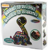 Škrabací 3D zvířátko - Dino -SCD-3D-MB004