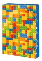 Box na sešity - A5 - Colour Bricks - 1241-0284