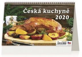 Kalendář stolní - Česká kuchyně -S03-20