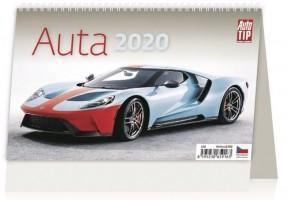 Kalendář stolní - Auta - S10-20