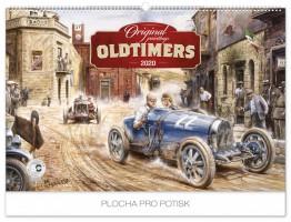 Kalendář nástěnný - Oldtimers – Václav Zapadlík 62 × 42 cm PGN-6663-L