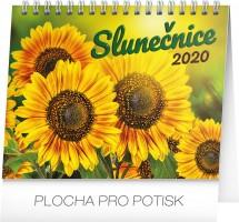 Kalendář stolní - Slunečnice s citáty  16,5 × 13 cm PGS-6853