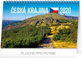 Kalendář stolní - Česká krajina 23,1 × 14,5 cm PGS-7452