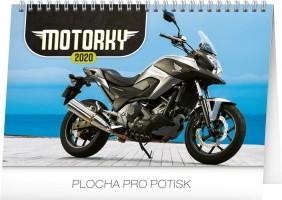 Kalendář stolní - Motorky 23,1 × 14,5 cm PGS-6892