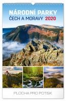 Kalendář nástěnný - Národní parky Čech a Moravy 33 × 46 cm PGN-6627-L