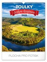 Kalendář nástěnný - Toulky českou krajinou 33 × 46 cm PGN-6655-L