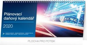 Kalendář stolní - Plánovací daňový 33 × 14,5 cm PGS-6847