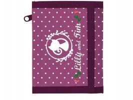 Dětská textilní peněženka - Lilly - Karton P+P - 8-05819