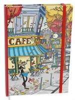 Diář denní - Adam - lamino - B6 - Cafe BDA9-6